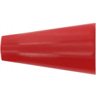 2 embouts pommeau rouge pour tringle de D20 mm 006908